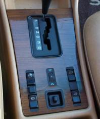 mercedes 126 shift plate
