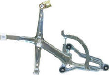 Mercedes® OEM Window Regulator,Front Left,Without Motor, 124 Chassis, 1986-1995