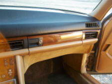 mercedes 126 glove box door