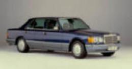 126 mercedes 300SDL,mercedes 380SEL.