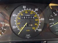 mercedes 300D speedometer