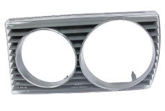 mercedes 300D headlight cover